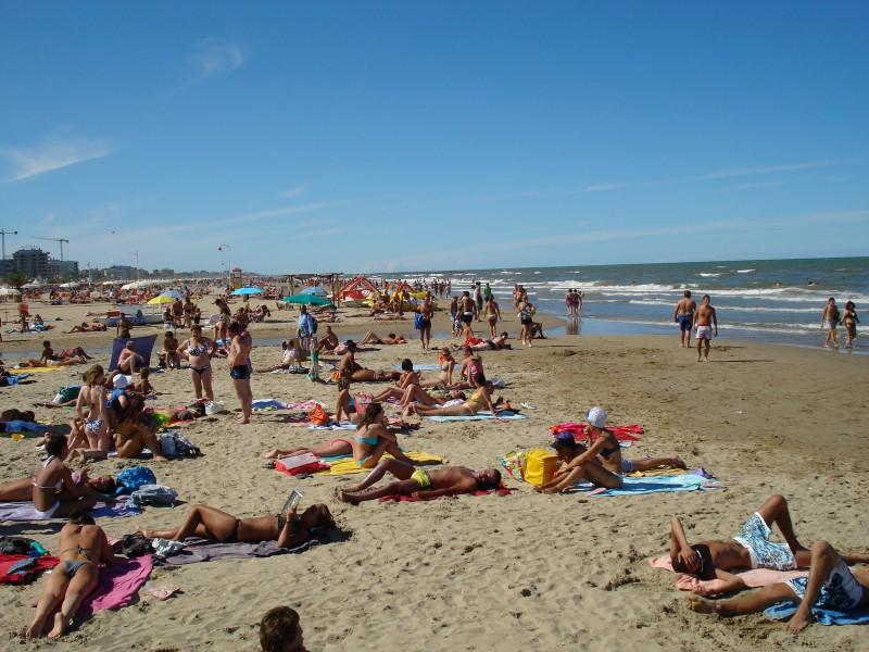 фото римини пляжи
