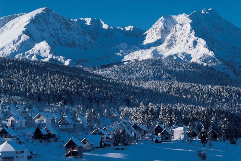 Горные лыжи в феврале